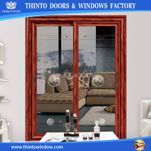 Safe and reliable aluminum profile sliding door cheap used