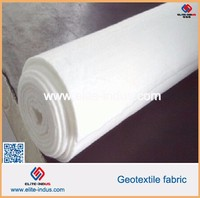 polyester nonwoven geotextile used as filter material