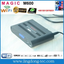 Receptor azamerica s1001 hd magic m600 with iptv 3G iks sks free for South America