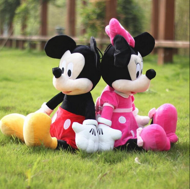 Customized meet ASTM EM71 standard mickey mouse plush toy wholesale
