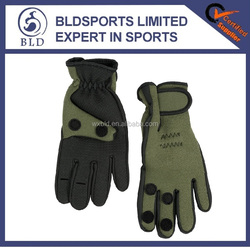 2015 hot sale Cheap high quality waterproof neoprene fishing gloves