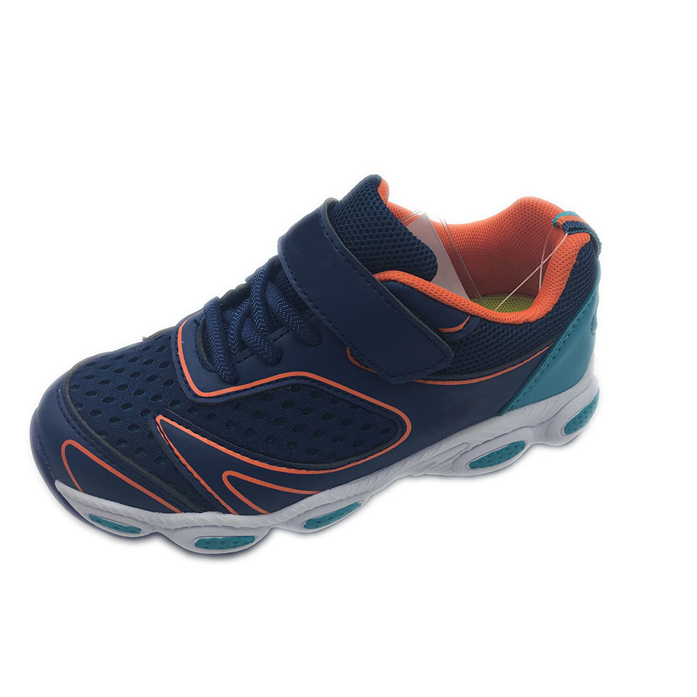 Promotion colorful breathable hole kid asia sport shoes