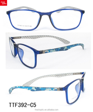 TTF392 Wholesale stable elasticity acetate optical eyeglasses frames from china