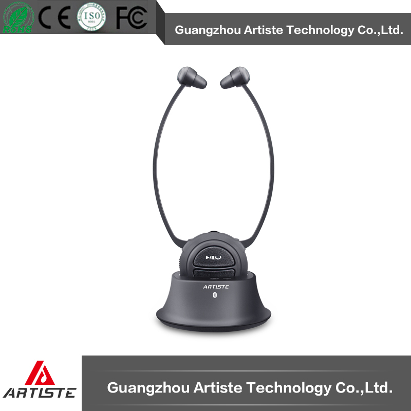 New design assistive device bluetooth headphone for tv