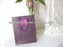 New fashion gift paper carry bag