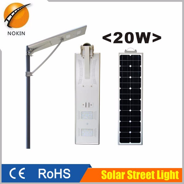 Outdoor Lighting Led Fixture Portable All In One Solar Street Light