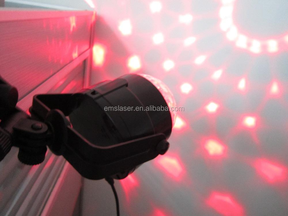 Rgb 미니 매직 볼 빛 사운드 제어 디스코 빛 Usb 케이블 자동차 ...