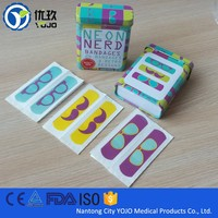 Health Care Product Custom Printed Color Kids Band Aid in Box