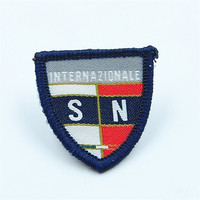 Customized embroidery brand name logo patch
