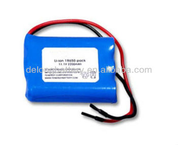11.1v mini rechargeable li-ion battery for LED lamps