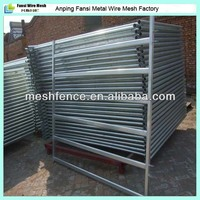 strong and economical galvanized steel pipe livestock cattle breeding panel fence