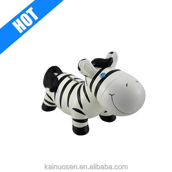 jewel eye zebra saving coin piggy bank for sale