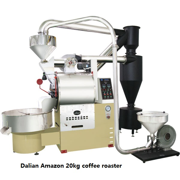 Dalian Amazon industrial coffee processing machine garanti g12 coffee roaster 10kg probat coffee roaster