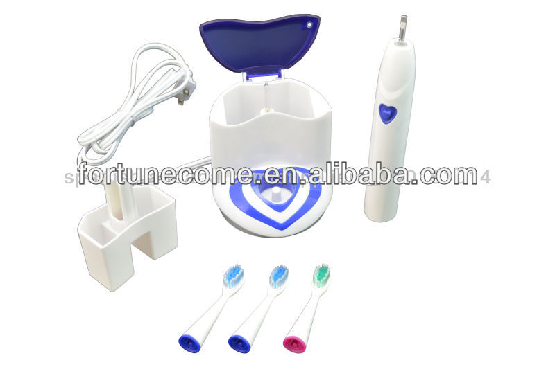2014 Rechargeabel sonic toothbrush withUV sanitizer