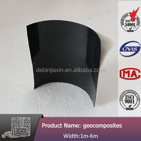 Geomembrane liner compound geomembrane waterproof material for duilding construction