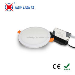 Factory Price CE ROHS 9w 12w 18w 24w Round Recessed Ceiling Light Led Panel Downlight