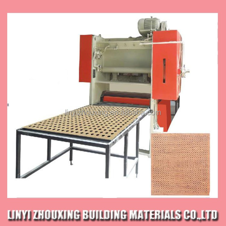 New Design Gypsum Perforated Ceiling Board Making Machine