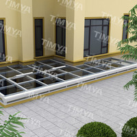 Modern design aluminum outdoor protable sunroom for sale,