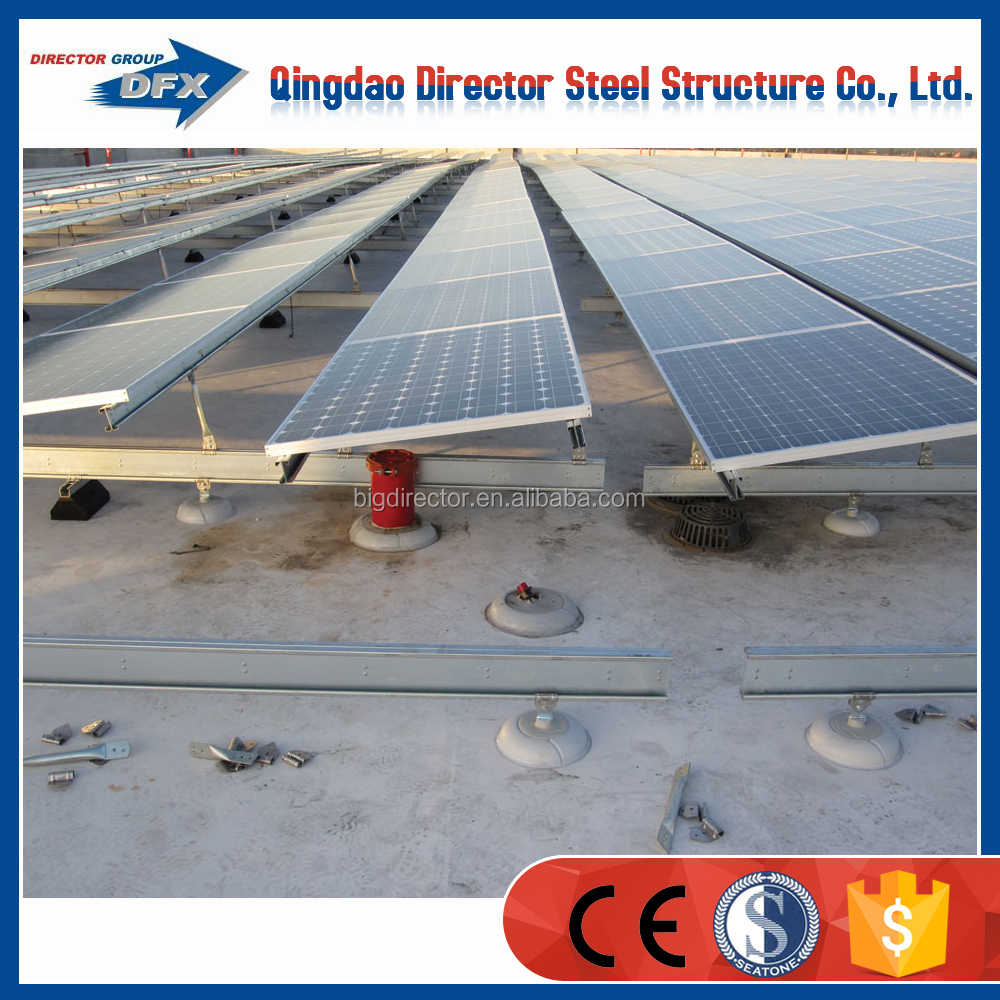 Galvanized Supporting Solar Panel Mounting Bracket