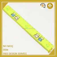 Custom design 15cm drawing stencil plastic folding ruler made in china
