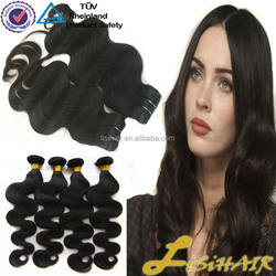 China supplier wholesale good quality human unprocessed virgin hair weave brazilian virgin hair