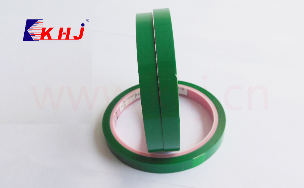 Popular antistatic green acrylic adhesive polyester tape used in electronic production