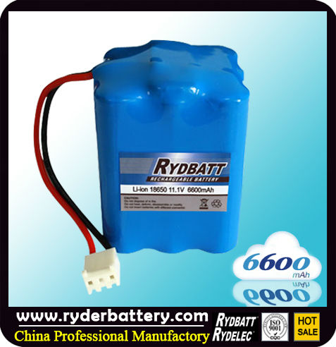 18650 rechargeable lithium battery 3.7v 6600mah