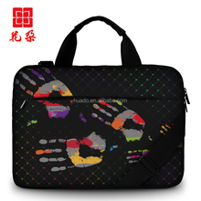 Laptop Handbags Sleeve Case canvas Material Computer Laptops Bag DIY Notebook Tablet Bags 11 13 15 15.6 inch Size
