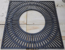 anti-dumping free high quality ductile iron /cast iron tree grating