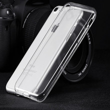 For iPhone 7/7plus Case Ultra Thin Transparent Soft Silicone TPU Phone Cases Cover For Apple for iPhone 7/7plus