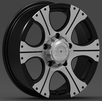 Best price 17x8.0 front wheel rim wheel tyre pcd 139.7 with gurantee