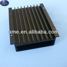aluminum extruded high power amplifier enclosure