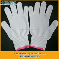 Factory outlet 10 gauge custom skin tight cotton driving gloves