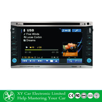 6.2 Inch GPS navigation Multi-touch Screen 1080P Wifi Double Din Car DVD Player XY-D1262