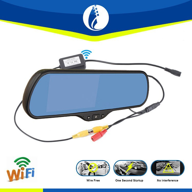 5 inch Android 4.1 WIFI GPS wireless wifi Bluethooth Car Rearview Color Monitor Reverse Mirror