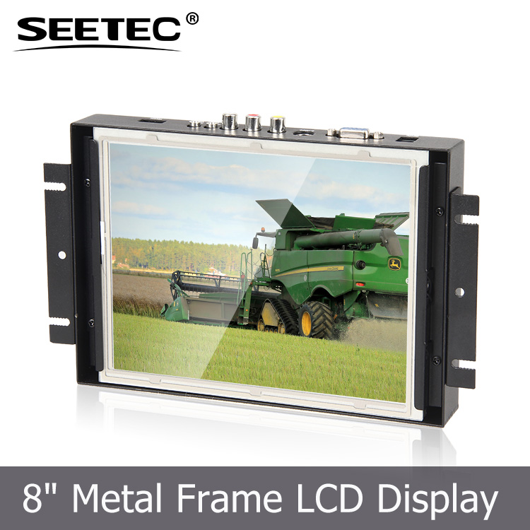 Industrial application 8 inch customize various sizes open frame tft lcd touchscreen monitors