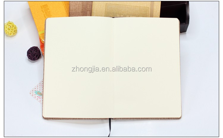 2017 Newest design pu notebook with elastic band