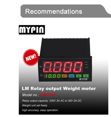 MYPIN large weighing scales platform scale RS485 load cell indicator(model LM8-RR4D)