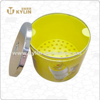 2018 Low price promotion double wall ice bucket
