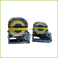 12MM yellow label LabelWorks and trade Iron-On Fabric LC Tape Cartridge for LW300 LW400 label maker