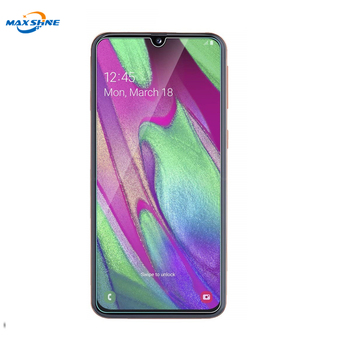 Maxshine Wholesale Mobile Accessories Tempered Glass Screen Protector Sheet For Samsung A40