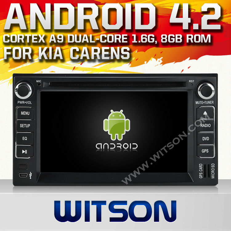 WITSON ANDROID 4.2 KIA CARENS 2006-2011 CAR STEREO WITH A9 CHIPSET 1080P