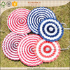 birthday party decoration elegant folded paper wheels backdrops