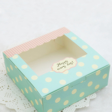 Promotional customized candy cake packing box