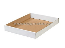 corrugated cardboard trays