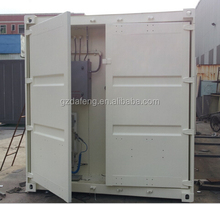 China containerized mobile fuel station for South Africa, Luanda