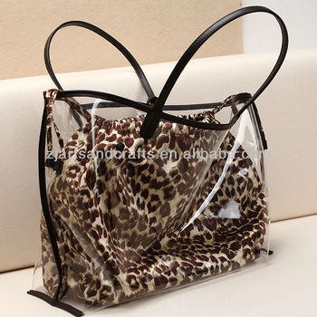 HX131635 Transparent PVC Handbag