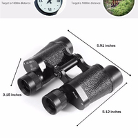 COMET Waterproof Anti-shake Antiskid Binocular Telescope AX10 - 8 x 30 HD Outdoor Traveling Military Binocular Telescope