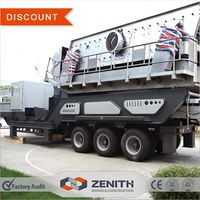Easy moving mobile jaw crusher for sale indonesia