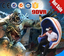Hot sale cinema 9d virtual reality movies with interactive games
